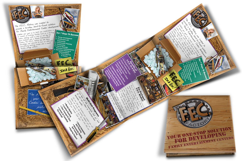Brochure for Family Entertainment Centers
