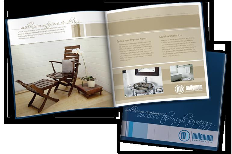 Brochure for Millenium Companies