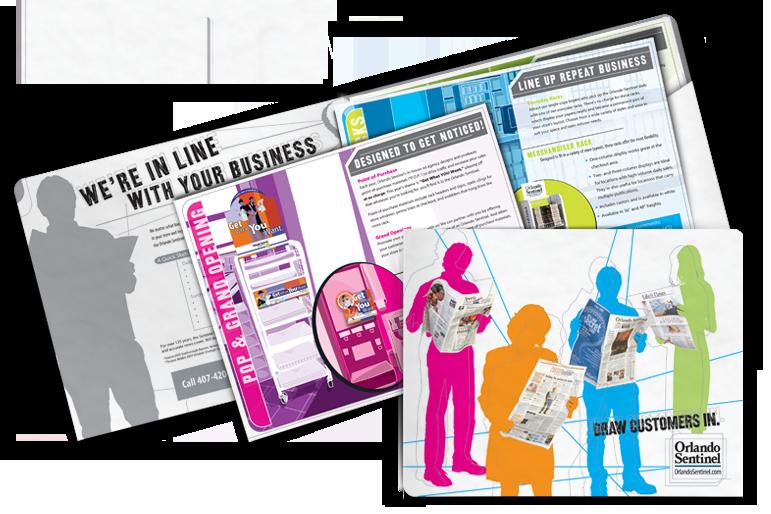 The Orlando Sentinel POP Sales Kit