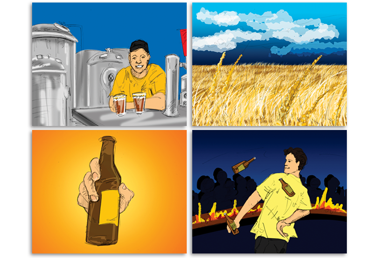 Story board for Beer Training