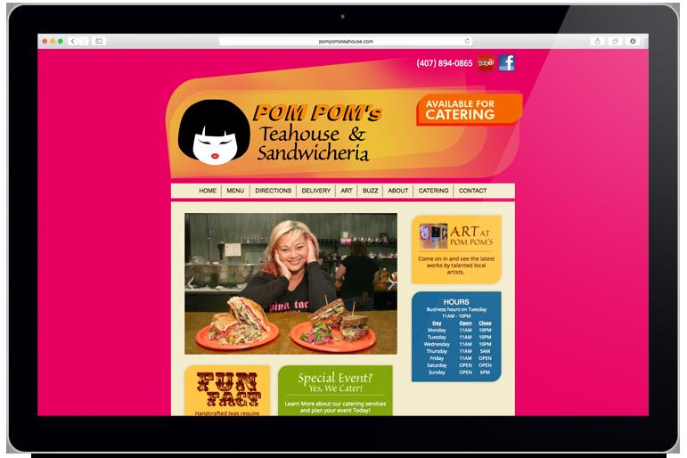 Pom Pom's Website