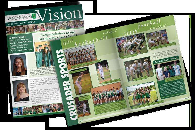 High school Newsletter –Vision